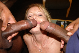 Bang gang interracial largest world